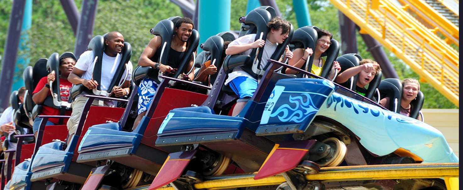 Enjoy Chessington World Adventures and get a taxi from Gatwick Airport