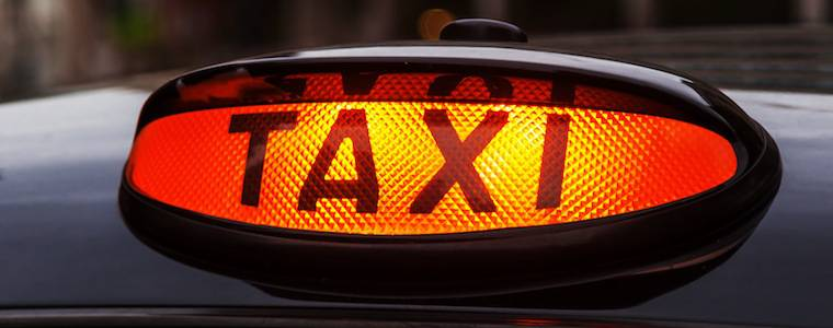 Many Gatwick Airport taxis are Hackney Carriages