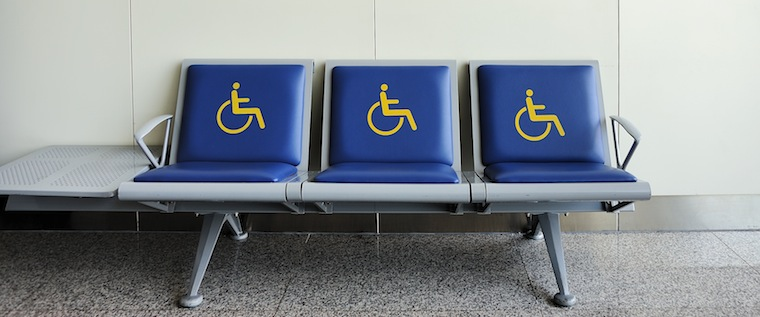 Disabled seating