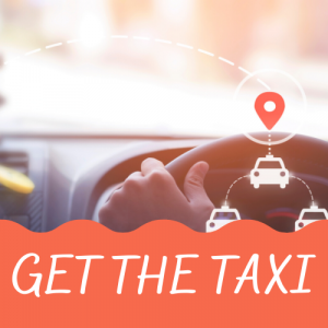 Gatwick Airport - get the taxi