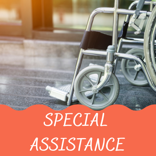 Gatwick Airport Terminals - special assistance