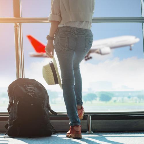 Gatwick North Terminal - a suitcase