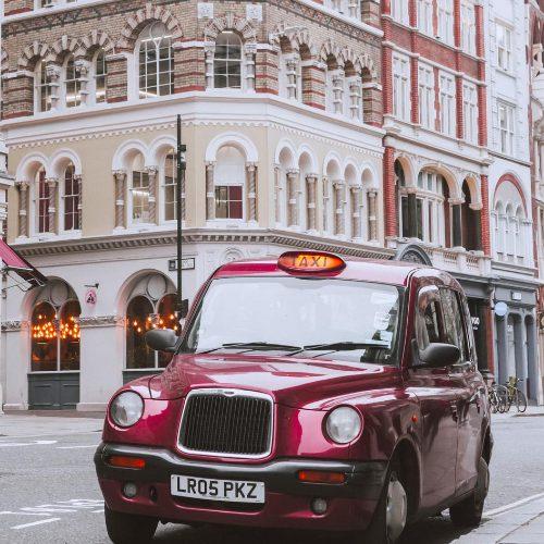 taxi around london