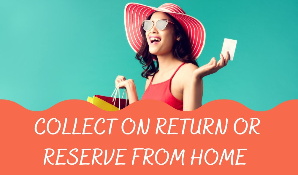 Collect on Return or Reserve From Home - Gatwick